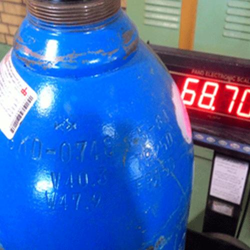 سیلندر گاز بیهوشی نیتروس اکساید